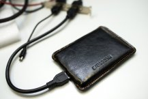 Freecom Mobile Drive XXS Leather 500GB